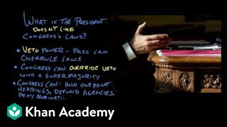Article I of the Constitution   US Government and Politics   Khan Academy