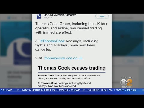 Thomas Cook Airlines Suddenly Shuts Down, Leaving Travelers Stranded