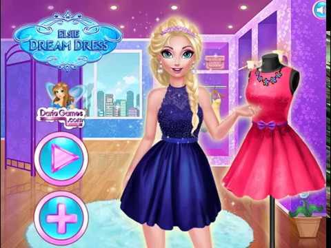 Мультик игра Холодное сердце: Модный наряд Эльзы (Elsie Dream Dress)