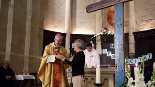Creu de Lampedusa a Agramunt