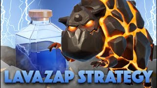 Lavazap Strategy | The Hardest Air Attack Ever | Clash Of Clans