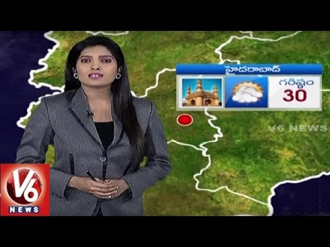 Weather Report || Temperature Levels In Telangana State || V6 News