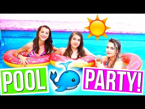 Pool Party DIY Treats, Things To Do   Essentials! ♡ 2016!