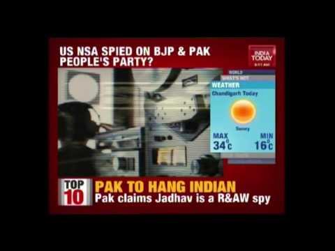 Wikileaks Claims U.S National Security Agency Spies On BJP & Pakistan People