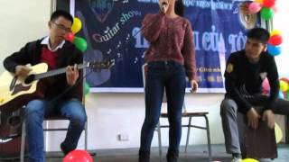 Thềm nhà có hoa - Guitar Acoustic Cover - Live Show Guitar