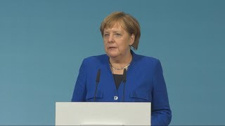 Statement von Angela Merkel nach den erfolgreichen GroKo-Sondierungen