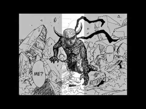 One Punch Man ONE ワンパンマン Saitama Vs Garou pt 1 - YouTube