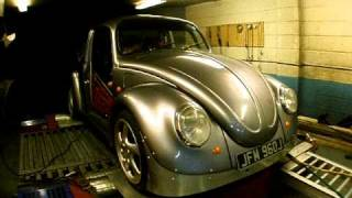Russ Fellows VW Drag Beetle 625HP at the Wheels with Bullseye S372 Turbo tuned by CPR