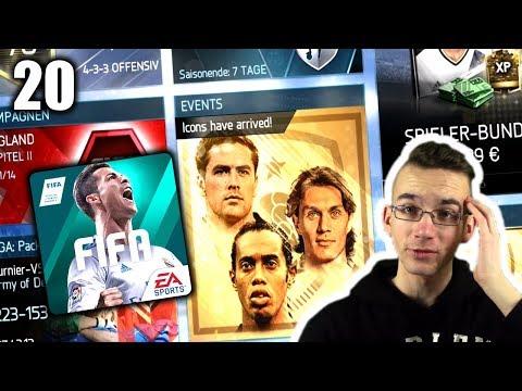 ICONS SIND DA!!! 😱🔥 FIFA 18 MOBILE #20