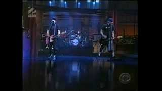 Blink 182 - The Rock Show  Letterman 2001  Hq