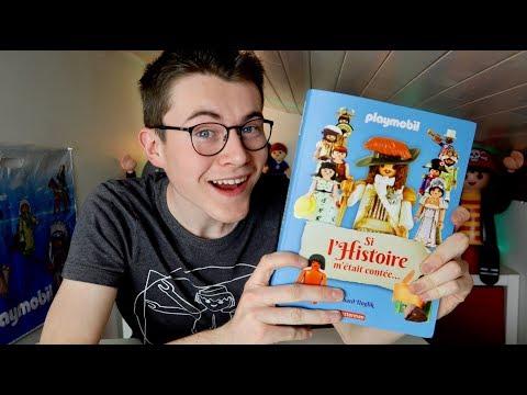 L'HISTOIRE En Playmobil 😍 Livre Playmobil