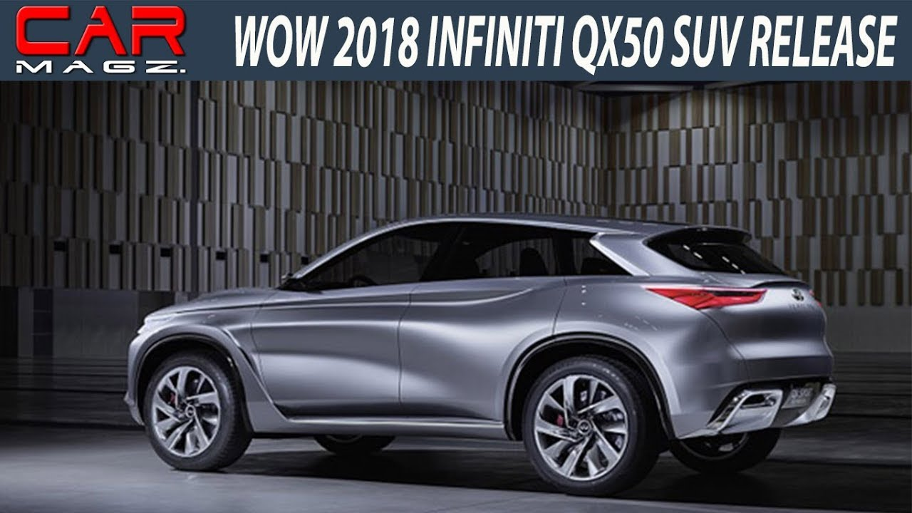 2018 Infiniti Qx50 Suv Review And Release Date Youtube