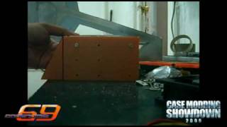 Codename: 69 Case Mod - Custom Hard Drive Bay - Part 13 (DAY 8)
