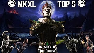 """vuclip MKXL: TOP 5  - Aramos' """"The Storm"""" Characters"""