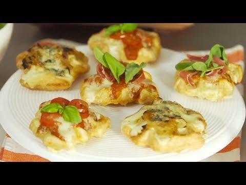 """""""Waffle pizza party"""" ¡Una variante moderna de la pizza!"""