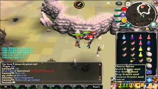 Drazmaer PK Video 34 - Rune Pure Pking in High Risk Worlds - H
