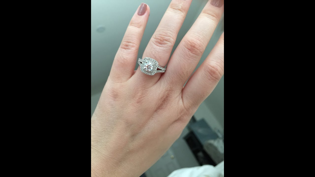 Vera Wang LOVE Collection Engagement Ring  YouTube