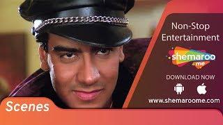Power-Pack scenes of Ajay Devgn from 90's Blockbuster Kanoon | Urmila Matondkar | Action Movie