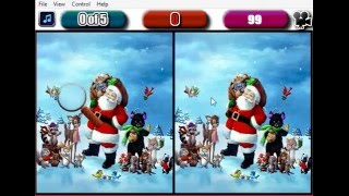 Christmas five Difference - Free flash Game