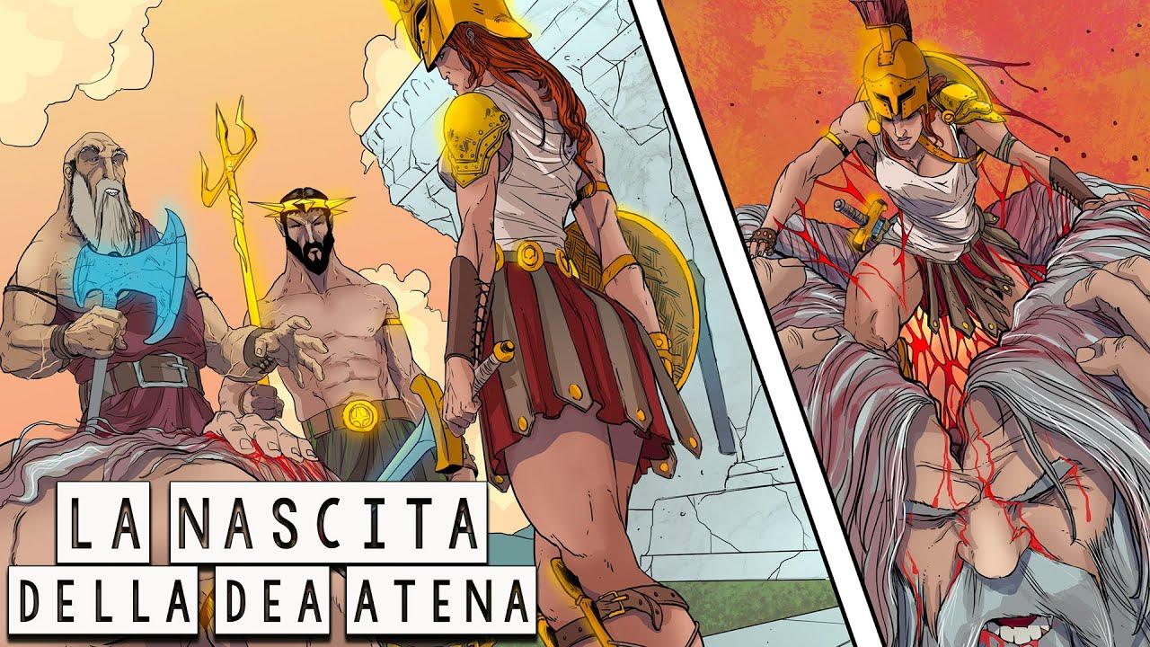 La Sorprendente Nascita della Dea Atena - Mitologia Greca - Storia e Mitologia Illustrate