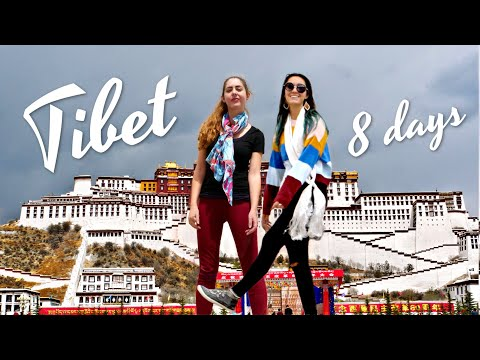 We're in Tibet!