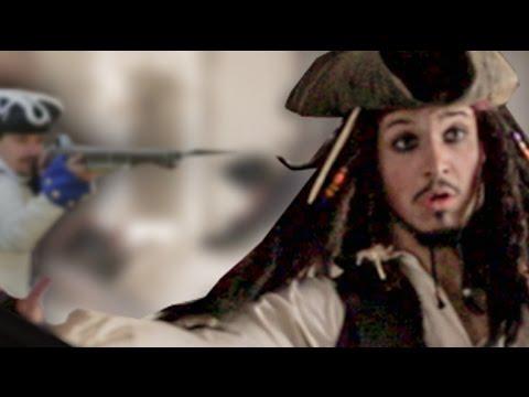 Jack Sparrow Castle Chase - Fan Film