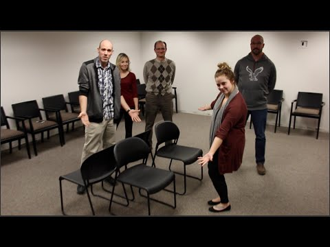 Adults Play Kids Games: Musical Chairs