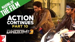 Making Of The Film - DHOOM:3 | Part 10 | Action Continues
