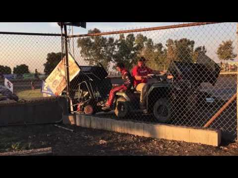 Day Two Kyle Larson Outlaw Kart Showcase Clips - Cycleland Speedway