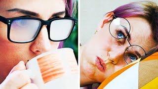 الحياة اليومية من منظور أصحاب النظارات