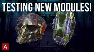 NEW Death Mark + Anticontrol Modules - Sneak Peek | Test Server Live Stream || War Robots [WR]