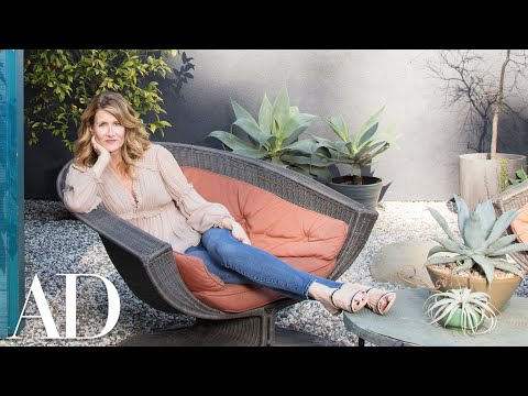 Inside Laura Dern's Rustic Los Angeles Home  Celebrity Homes  Architectural Digest