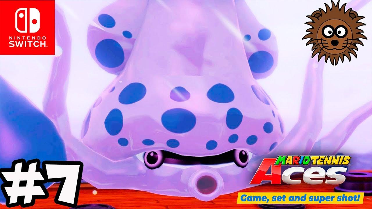 MARIO TENNIS ACES Modo Historia - Nintendo Switch Gameplay en Español #7