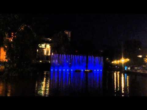 Wasserspiel Potsdamer Platz
