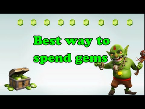Clash of Clans - Best Ways To Spend Gems