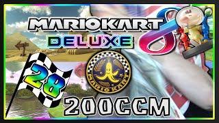 MARIO KART 8 DELUXE Part 28: Bananen-Cup 200ccm Deluxe mit Facecam