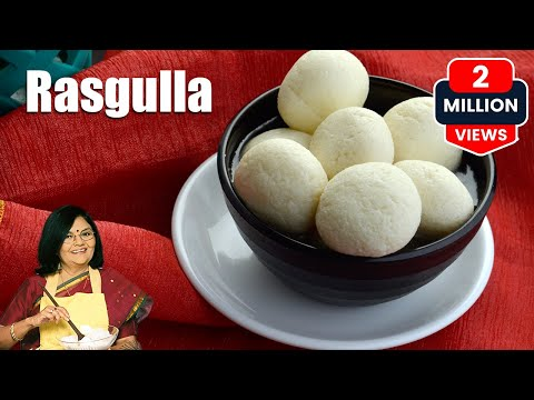 Rasgulla, How to make Rasgulla, Bengali Rasgulla by Tarla Dalal