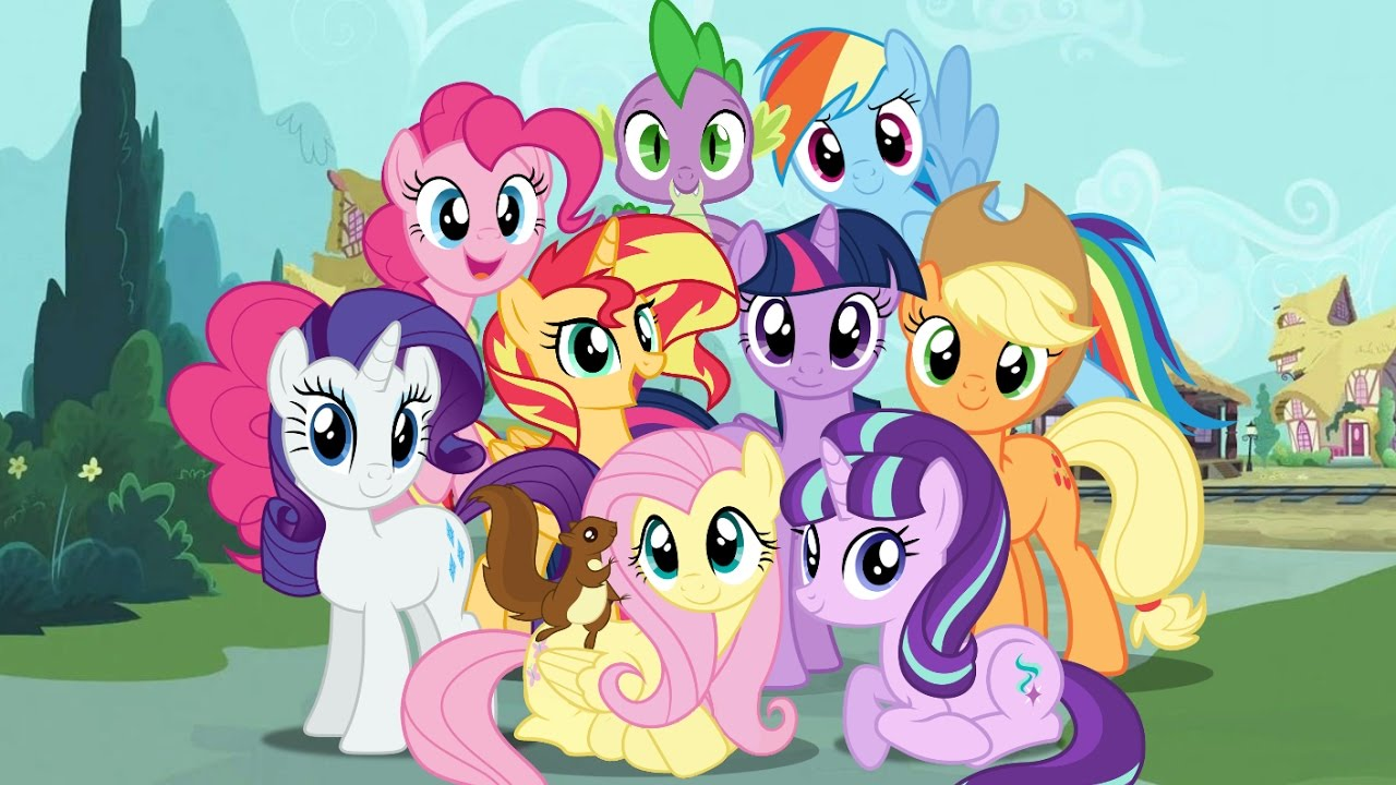 My Little Pony Friendship Is Magic Power Levels Seasons -6873