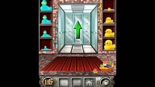 100 floors escape level 12 - 20 walkthrough (100floorsESC)