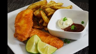 Beer Battered Fish, Easy and delicious Recipe!