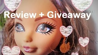 New Ever After High Cedar Wood Rebel Doll + Giveaway (giveaway Closed)