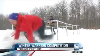 "RIT on TV: ""Winter Warriors"" at FreezeFest on WROC"