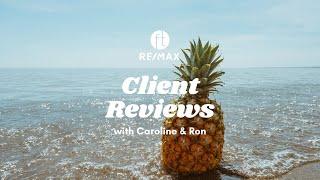 Client Reviews: Caroline Leitao & Ron