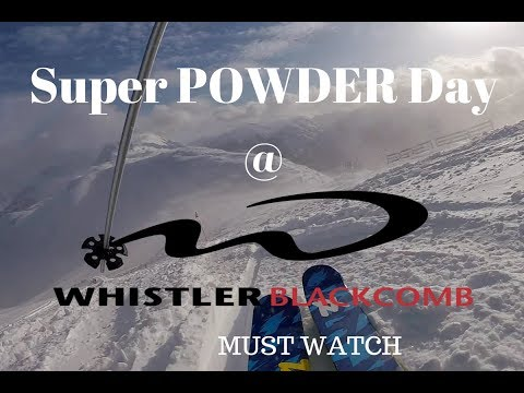 Whistler Blackcomb Super Powder Day with crashes, Dec 19/2016 shot on a Hero 5 Session