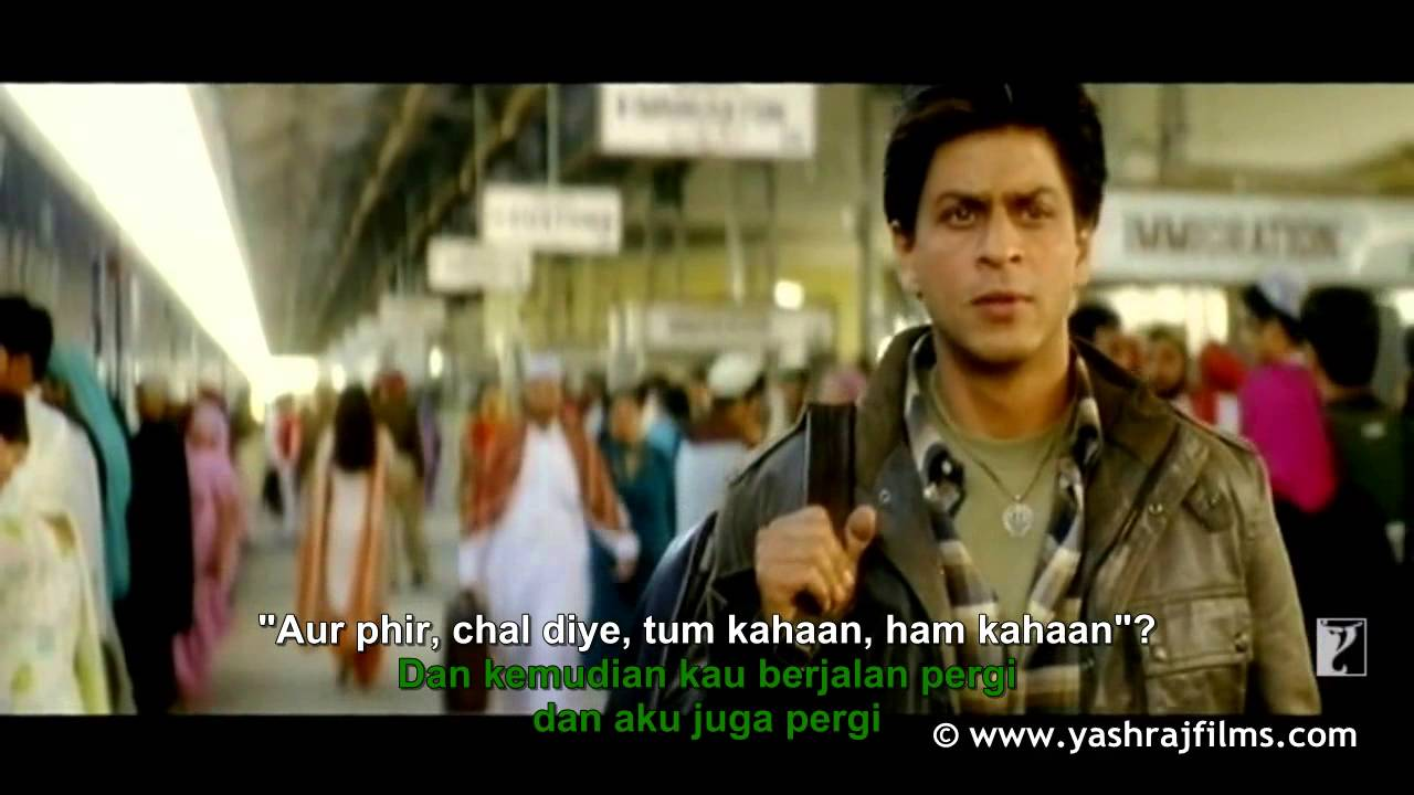 Do Pal Song Veer Zaara (lyrics+indonesia translated) - YouTube