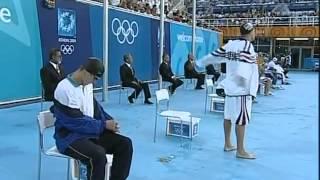 アテネ五輪2004 200m平泳ぎ決勝 北島康介 金メダル 優勝タイム:2'09'44.