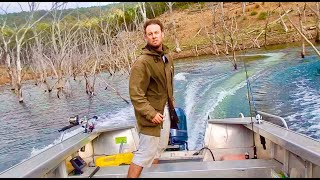Lake Boat Camping Adventure... Catch and Cook...