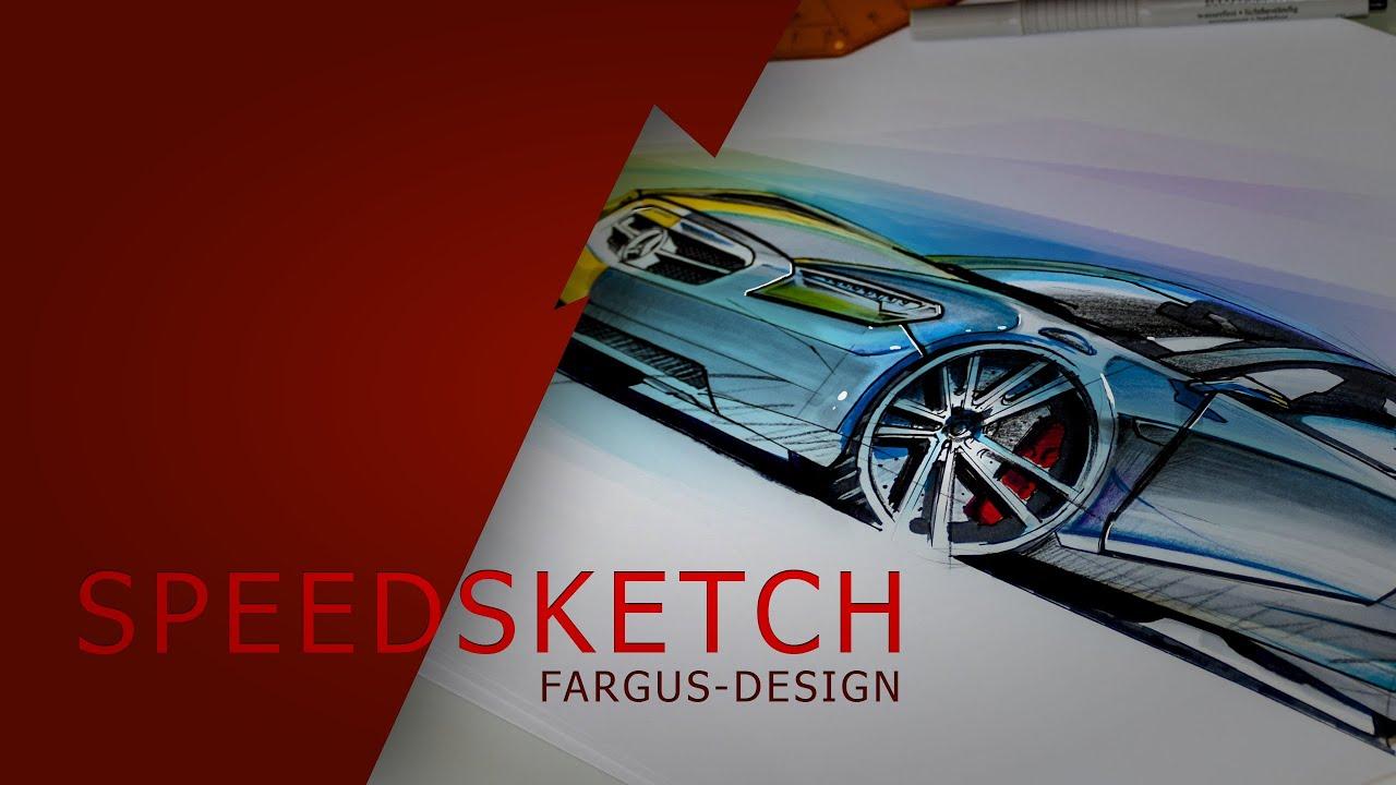 Wie zeichnet man ein Auto? Speedsketch. Zeichnen lernen leicht ...