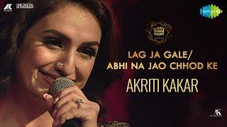 Download Lag Ja Gale & Abhi Na Jao Chhod Kar | Mashup | Akriti Kakar | Big Band Theory