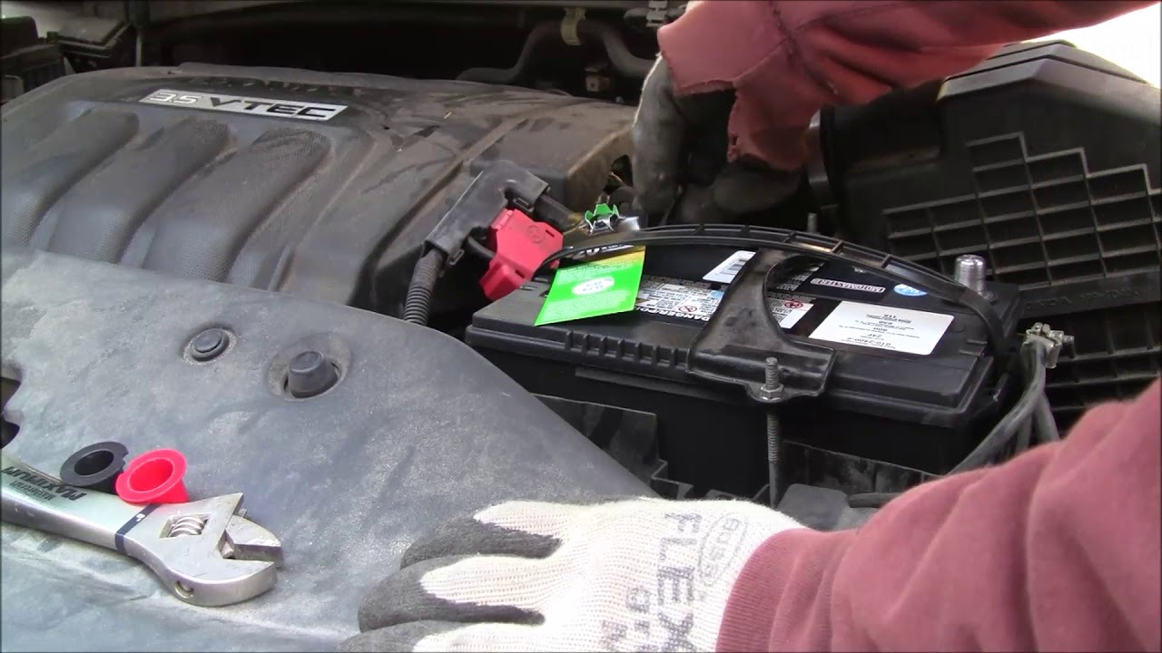 hight resolution of how to change 2008 honda odyssey car battery and jump start your dead battery